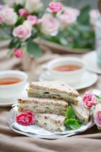 Afternoon tea glutenfritt stylat av Josephine Palm fotograferat av matfotograf Stockholm Jessica Lund